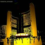 """City Hall Toronto, Ontario, Canada-PNG"" by FarajB"