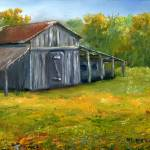 """Louisiana Art; Old Barn"" by Lenora"