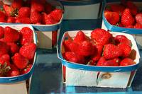 Strawberries in Provence market