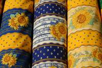 Fabric in Provence market