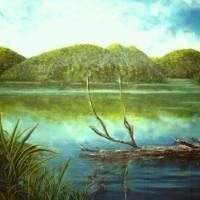 Fishing Spot Art Prints & Posters by Everett Cooper