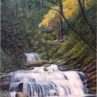 Panther Creek Art Prints & Posters by Everett Cooper