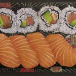 """Sushi #1"" by kathylumsden"