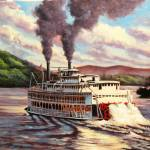 """Riverboat"" by kathylumsden"