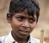 Village boy, Nawanda, Similipal, Orissa, India