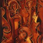 """Mystical Musicians"" by marydelave"