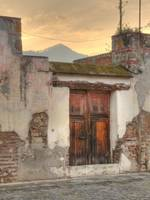 Antigua Doorway (Sunset)