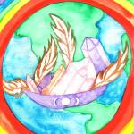 """World Healing Medicine Bowl"" by Christia"