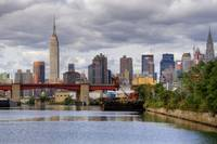 Midtown Skyline From Newtown Creek