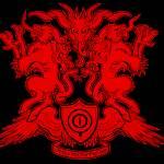 """missmonster coat of arms"" by missmonstermel"