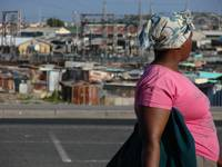 Woman in Khayelitsha