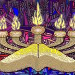 """Gospel Menorah"" by DCLWolf"