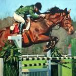 """HorseJump highres"" by jeffoehmen"