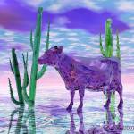 """I Never Saw... (The Purple Cow) EBSQ"" by rhemaangel"