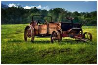 Virginia farm wagon