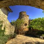 """Wildflower Center Tower and Arch"" by dawilson"