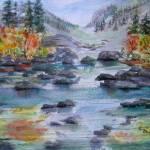 """Sierra River"" by MannellGallery"
