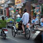 """Rickshaw in Saigon"" by leslein"