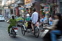 Rickshaw in Saigon