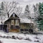 """WinterOnYubaRiver"" by MannellGallery"
