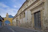 Street and Archway, Antigua Guatemala