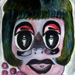 """Make-up Portrait by Svetlana"" by rednoseart"
