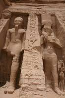 Ramses II and Nefertari