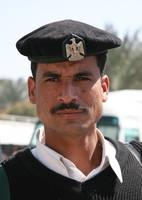 Portrait of Tourism and Antiquities Policeman