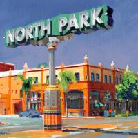 """North Park Sign by RD Riccoboni"" by RDRiccoboni"