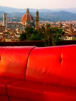 Red in Florence