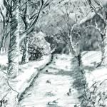 """morning walk"" by StephenGentry"