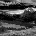 """""""Grindelwald Valley BW"""" by dbhalbur"""