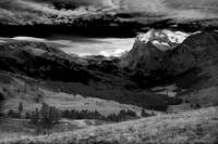 Grindelwald Valley BW