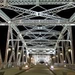 """after dark at Shelby Street Bridge"" by Duckshoot"