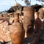 """Berber Pots, Morocco"" by yvonneayoub"