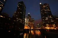 Sears Tower over Chicago River