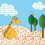 """A giraffe"" by Shusik"