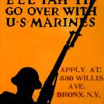 """""""Go over with U.S. Marines by Charles Buckles Falls"""" by JasonLockwood"""