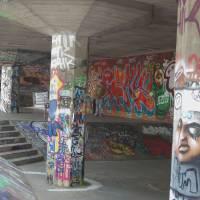 Street Art London South Bank Art Prints & Posters by Vi Algar