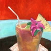 Mai Tai Art Prints & Posters by Susan Payne-Trutna