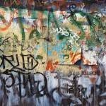 """[mb] Dumpster Graffiti Closeup"" by merrickbrown"