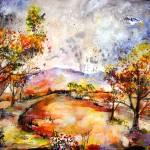 """Georgia Autumn Rainy Day"" by GinetteCallaway"