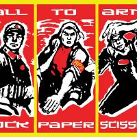 calltoarmsposter Art Prints & Posters by Graham Walker