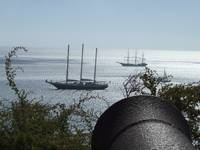 Tall ships in Sagres