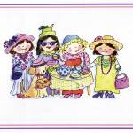 """GB268 Dress-up Girls print"" by ShelleyDieterichs"