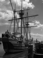 The Black and White Ship