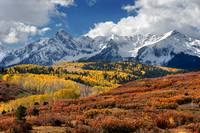 The San Juan Mountains In Fall