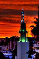 Westwood Village Sunset