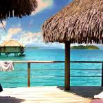 """Bungalow on Bora Bora"" by kostliva"