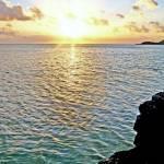 """Sunset on Bora Bora"" by kostliva"